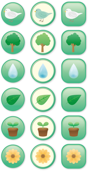 친환경 이미지 아이콘