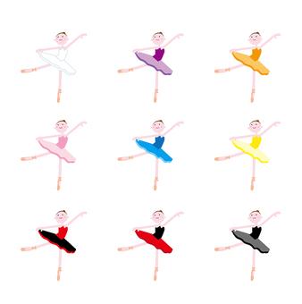 Ballet pose 1