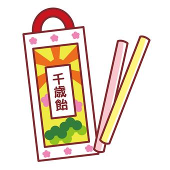 Chitose candy Shichigosan