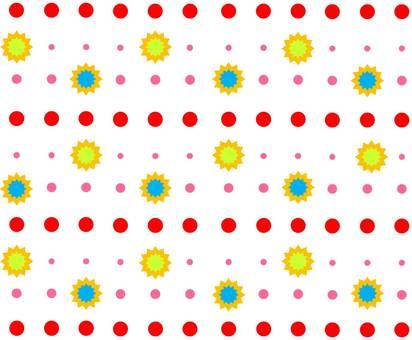 Image in polka dot pattern