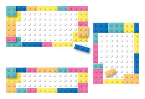 Block frame Kids color 02