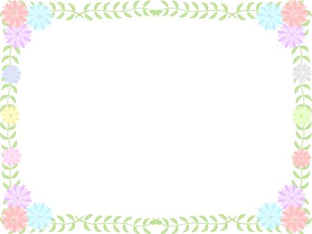 Flower frame 08