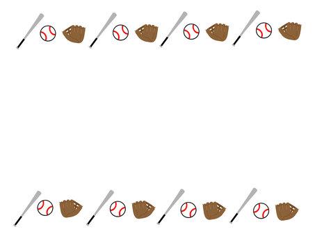 Baseball Frame / Frame 7