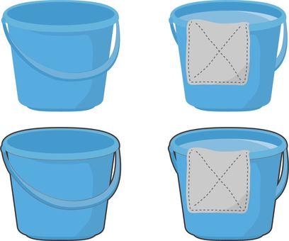 Bucket dolphin