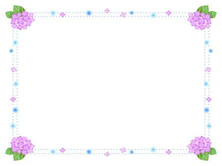 27. Hydrangea Frame 1