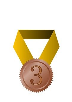 Medal ribbon 3