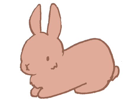 Brown rabbit rabbit