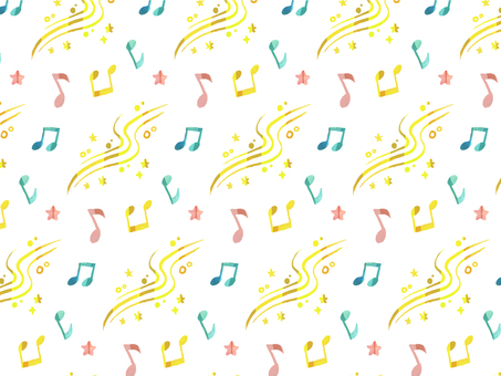 Musical note pattern