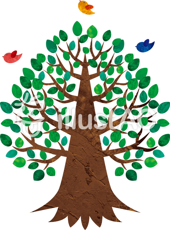 大きな樹イラスト No 1484649無料イラストならイラストac
