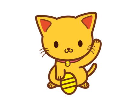 Invitation cat (money)