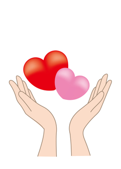 Hand wrapping Heart C