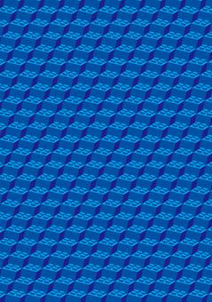 Block background illustration blue