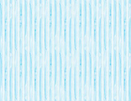 수채화 풍의 스트라이프 배경 _ 하늘색 - 하늘색
