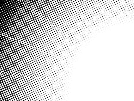 ドットグラデーション4・黒