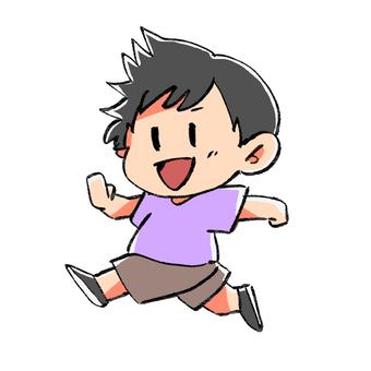 달리는 어린이