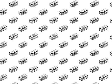 Bus pattern (monochrome)