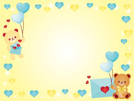 Love letter Kuma-chan - White ~