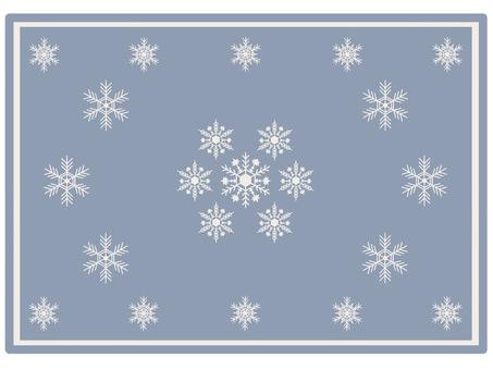 Frame snow crystal ⑤ classic