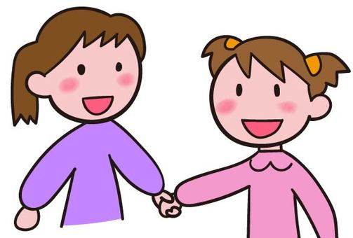 When you hold hands it will make you smile