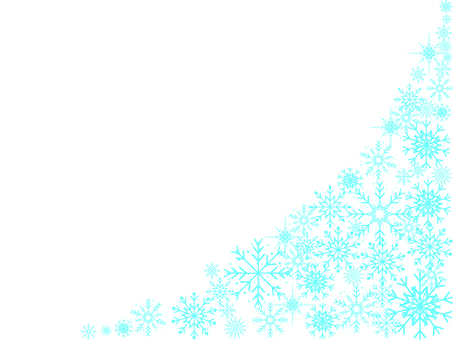 Snow crystal material 01