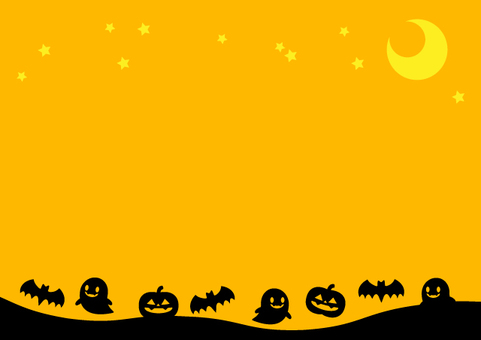 Halloween background (simple) Orange