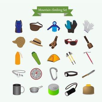 Mountain climbing items