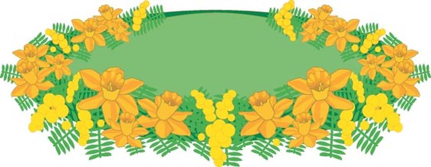 水仙和含羞草