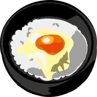 Egg over rice
