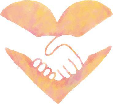 Heart 22_02 (handshake)