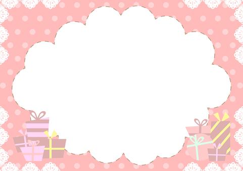Gift box valentine pink