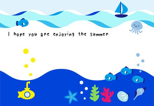 Yellow Submarine postcard