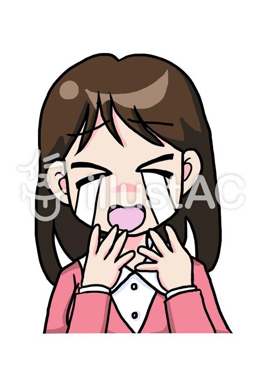 悲しい表情の女性イラスト No 58580無料イラストならイラストac