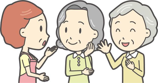 高齢者の生活-003-セット