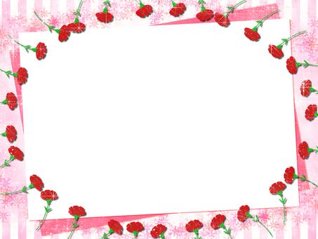 Carnation frame frame