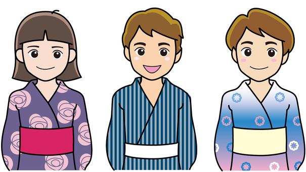 Children's yukata