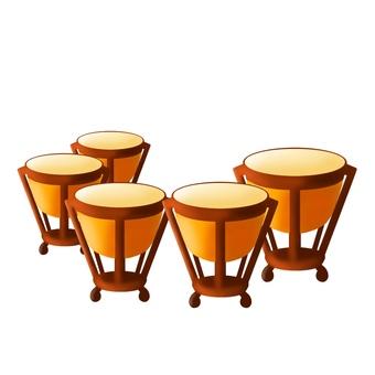 Timpani (five units)