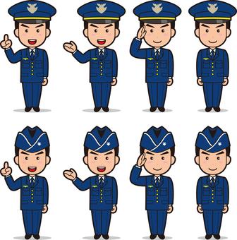 Self-Defense Forces 3 (Men's Air Self-Defense Forces)