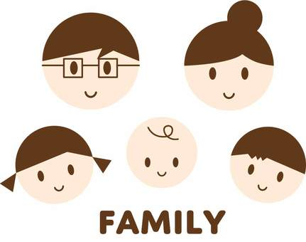 Family face
