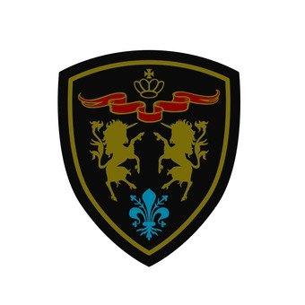 Patch - Unicorn Emblem (color)