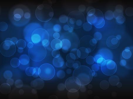 Round light / dark blue