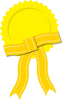 Medal yellow 2