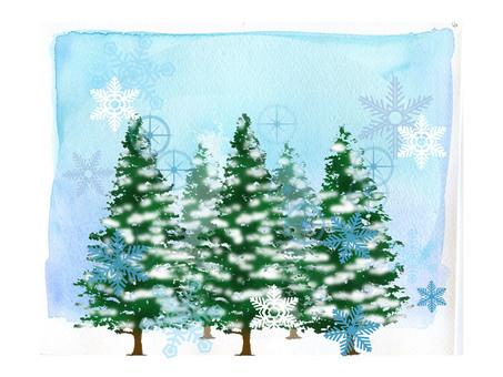 Winter scenery ★ 0254-D