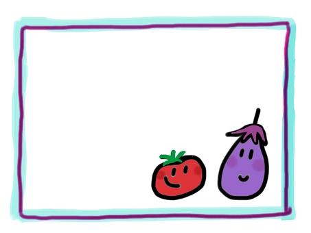 Eggplant and tomato
