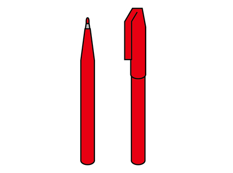 Red pen