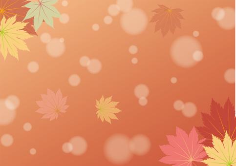 秋天的漸變