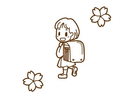 Soon-grade · Girls version monochrome