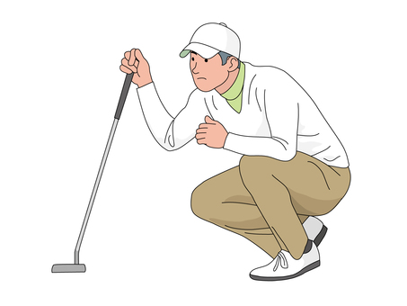Golfer 5 (Tee shot)