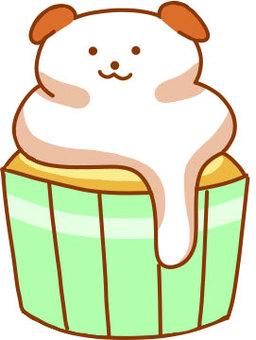 Inu's cupcake