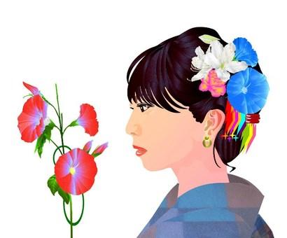Profile woman