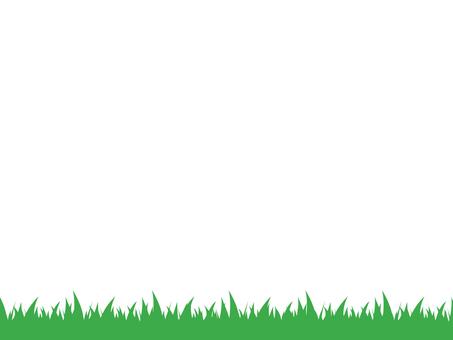 Grass decorative frame 2